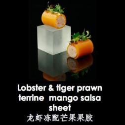 龙虾冻配芒果果胶